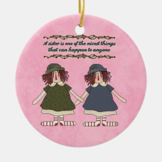 Sister Inspiration ornament
