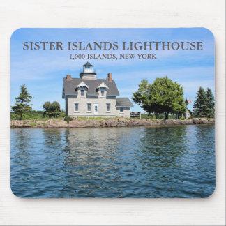 Sister Islands Lighthouse, New York Mousepad