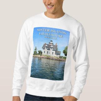 Sister Islands Lighthouse, New York Sweatshirt