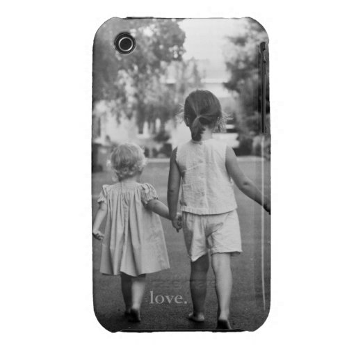 Sister Love iPhone Case iPhone 3 Cases