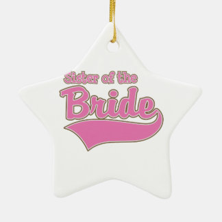 Sister of the Bride Christmas Ornament