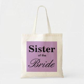 Sister of the Bride Tote Bridal Purple/ Lavender