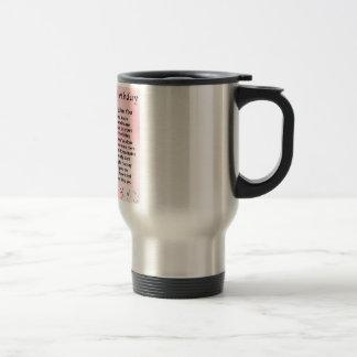 Sister Poem - 30th Birthday Design Travel Mug
