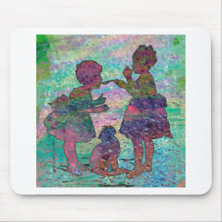 SISTER SHARE 2 MOUSE PAD