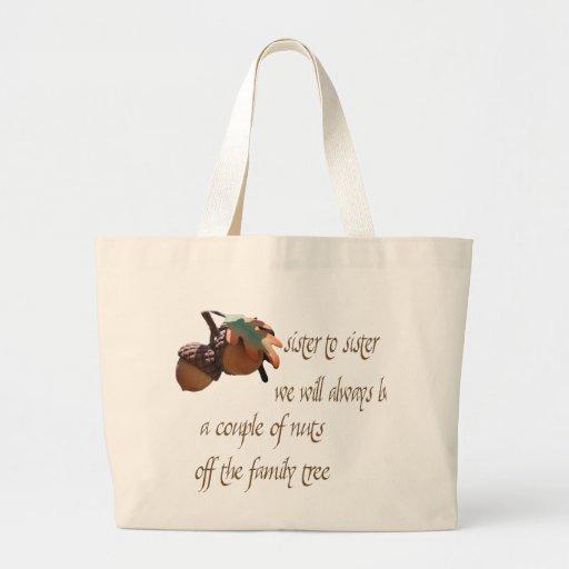 Sister to Sister Tote Bag