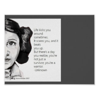 Sisterhood series poster- Carrie Poster