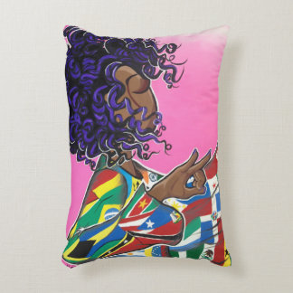 Sisterhood Without Borders/ International Beauty Decorative Cushion
