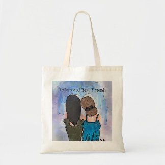 Sisters and Best Friends Tote Bag
