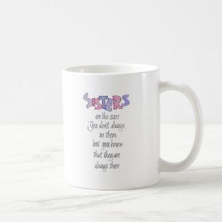 Sisters are like Stars Coffee Mug