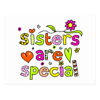 Sisters are Special Post Cards
