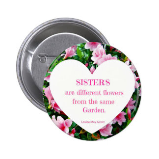 Sisters Pinback Button