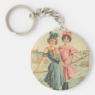 Sisters Basic Round Button Key Ring