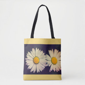 Sisters daises tote bag