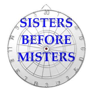 SISTERS DART BOARD