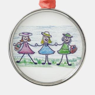 Sisters Christmas Ornament