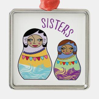 Sisters Christmas Tree Ornament