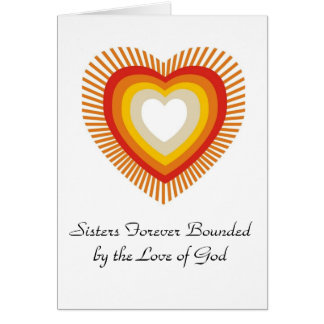 Sisters forever bounded by Love ..... Card
