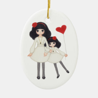 Sisters - Forever Friends! Ceramic Ornament