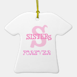 Sisters Forever (pink) Ceramic T-Shirt Decoration