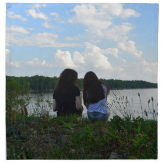 Sisters/Friends Printed Napkin