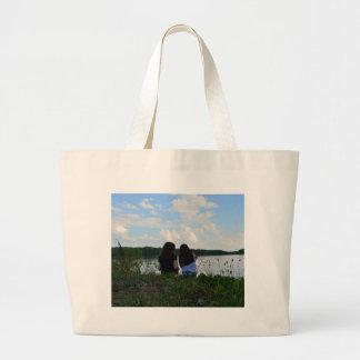 Sisters/Friends Jumbo Tote Bag