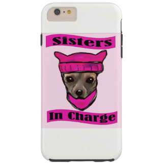 SISTERS IN CHARGE TOUGH iPhone 6 PLUS CASE