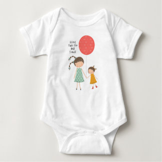 Sisters Make the Best Friends Baby Bodysuit