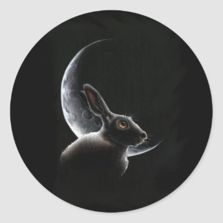 Sisters - Moongazing Hares Sticker
