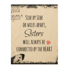 Sisters Quote Wood Wall Art