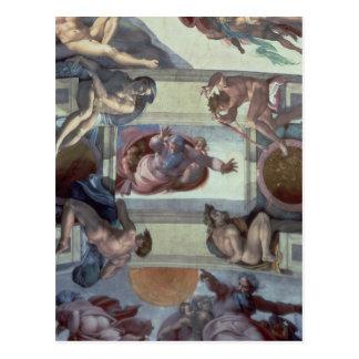 Sistine Chapel Ceiling 2 Postcard