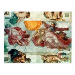 Sistine Chapel Ceiling 3 Postcard