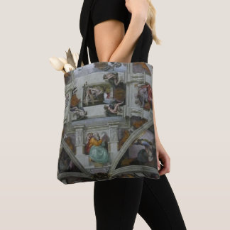Sistine Chapel Ceiling, Rome Italy (wearable art!) Tote Bag