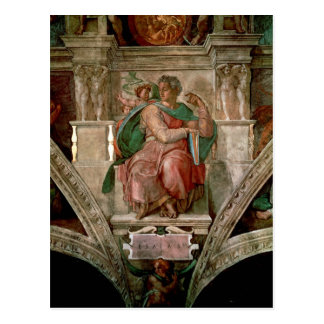 Sistine Chapel Ceiling: The Prophet Isaiah Postcard