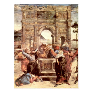 Sistine Chapel - Punishments of the Levites Postcard