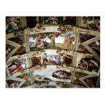 Sistine Chapel, Vatican, Rome, Italy Postcard