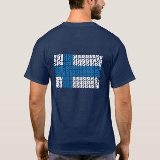 Sisu Back Basic Dark T-Shirt