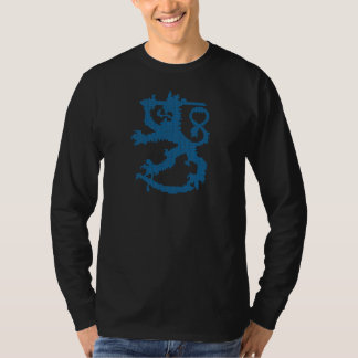 Sisu Lion Basic Black Long Sleeve T-Shirt