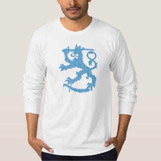 Sisu Lion Men's Fitted Long Sleeve T-Shirt