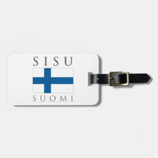 Sisu Suomi Luggage Tag