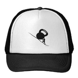 Sisyphus Kettlebell Tenacity T-Shirt Trucker Hats