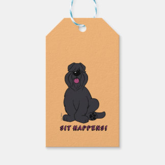 Sit happens gift tags