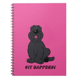 Sit happens notebook