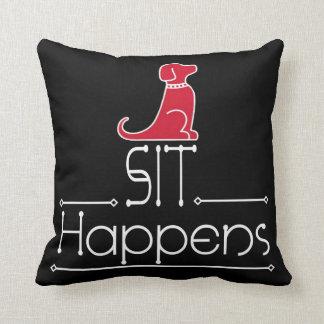 Sit Happens Pillow
