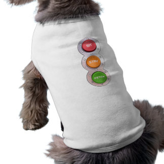 SIT STAY & FETCH in colour Shirt