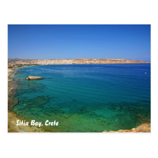 Sitia bay, Crete, Sitia Bay, Crete Postcard