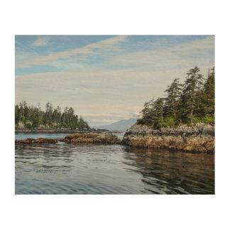Sitka Islands Wood Print