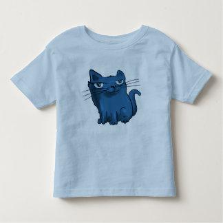 sitting and smiling sweet kitty cartoon toddler T-Shirt
