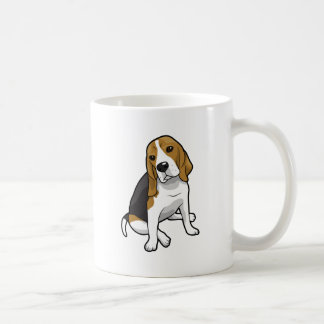 Sitting Beagle Coffee Mug