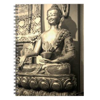Sitting Buddha Statue Notebooks