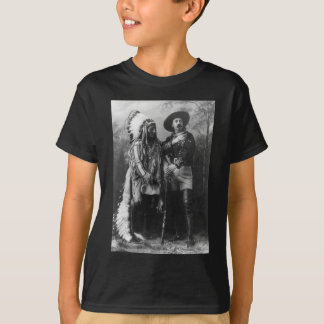 Sitting Bull and Buffalo Bill Portrait from 1885 T-Shirt